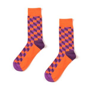 Block Funky Patterned Socks
