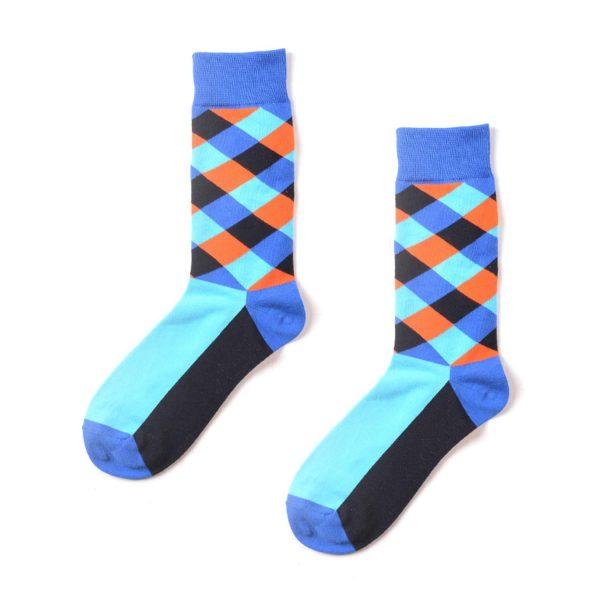 Diamond Funky Patterned Socks