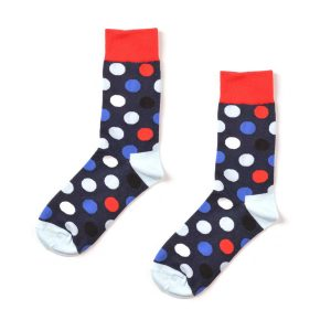 Polka Dot Funky Patterned Socks