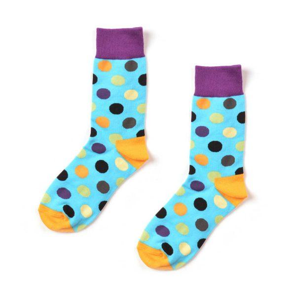 Polka Dot Funky Patterned Socks