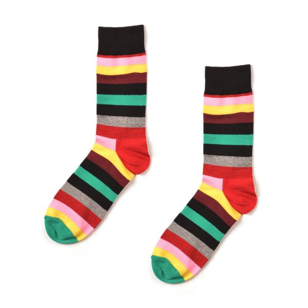Striped Funky Patterned Socks