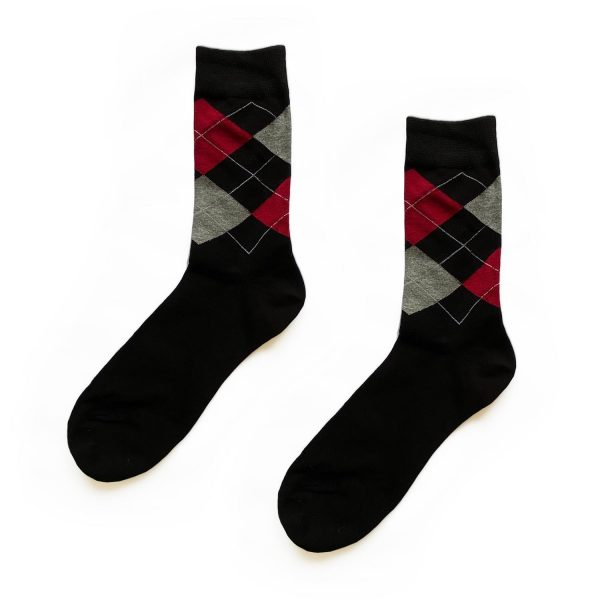Argyle Traditional Patterned Socks