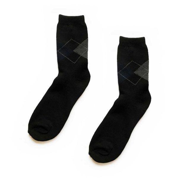 Argyle Traditional Patterned Socks