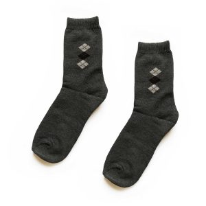 Diamond Traditional Patterned Socks