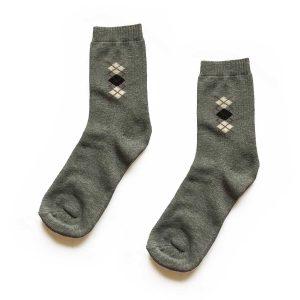 Diamond Traditional Patterned Socks