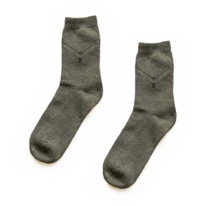 Zigzag Traditional Patterned Socks
